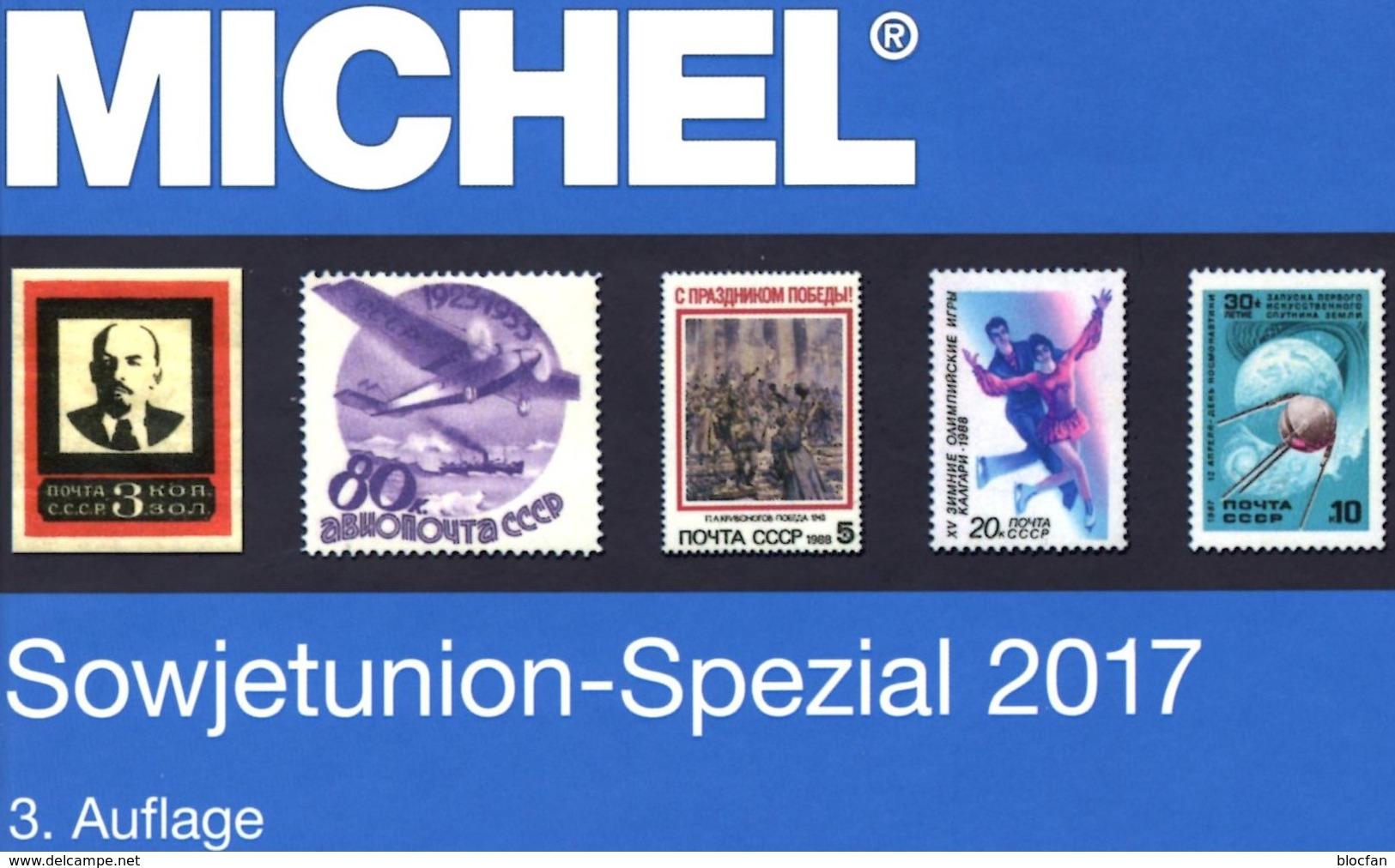 Sowjetunion Spezial Briefmarken Michel Katalog 2017 Neu 150€ Porto/Lokal/Gebühren-Marken Catalogues USSR CCCP SU - Books, Magazines, Comics