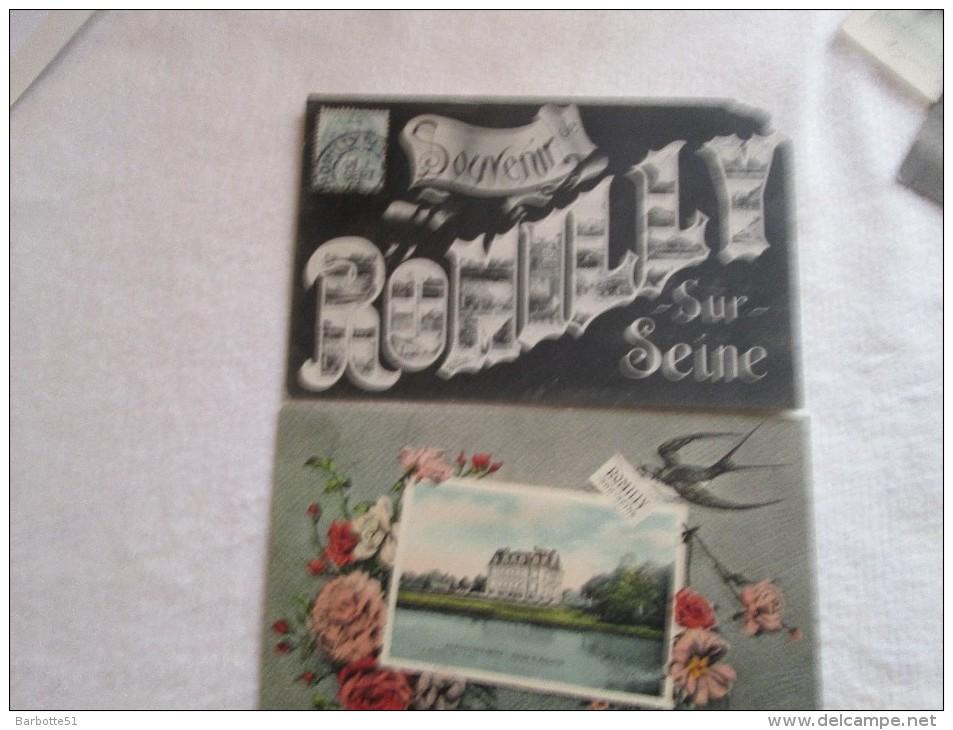 Romilly Sur Seine Aube 2  Cpa  Souvenir  Et Fantaisie - Romilly-sur-Seine