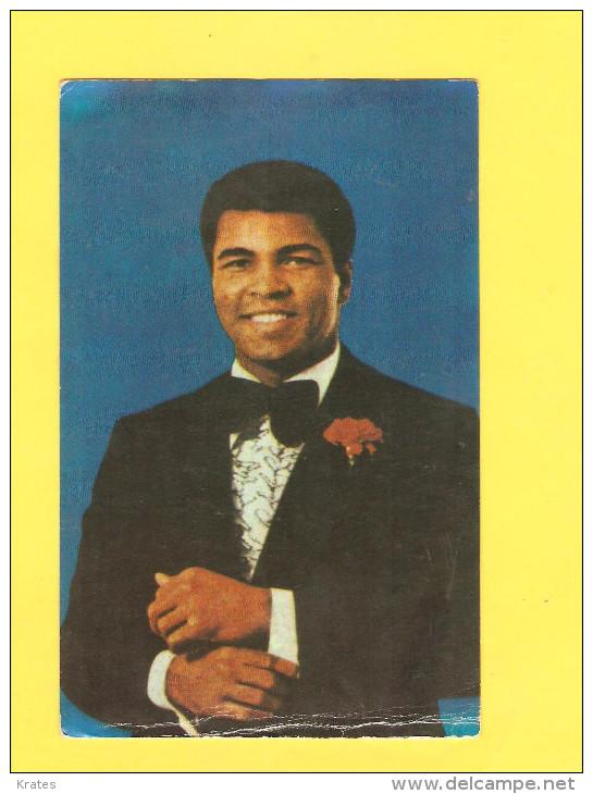 Postcard - Muhammad Ali, Boxing    (V 26955) - Boxe