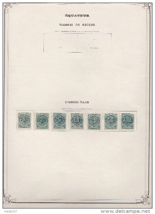 Equateur Ancienne Collection Petit Prix - 11 Scans - Equateur