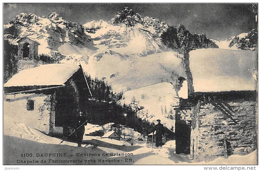 HAUTES ALPES  05   ENVIRONS DE BRIANCON  CHAPELLE DE FONTCOUVERTE PRES NEVACHE - Francia
