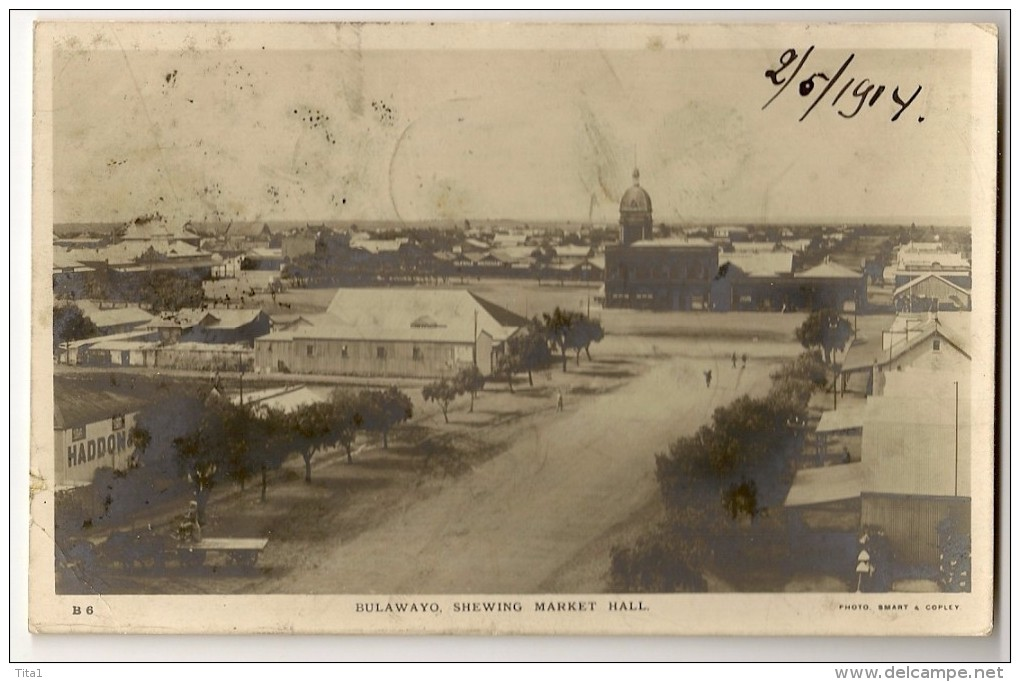 S3670 -  Bulawayo Shewing Market Hall - Zimbabwe