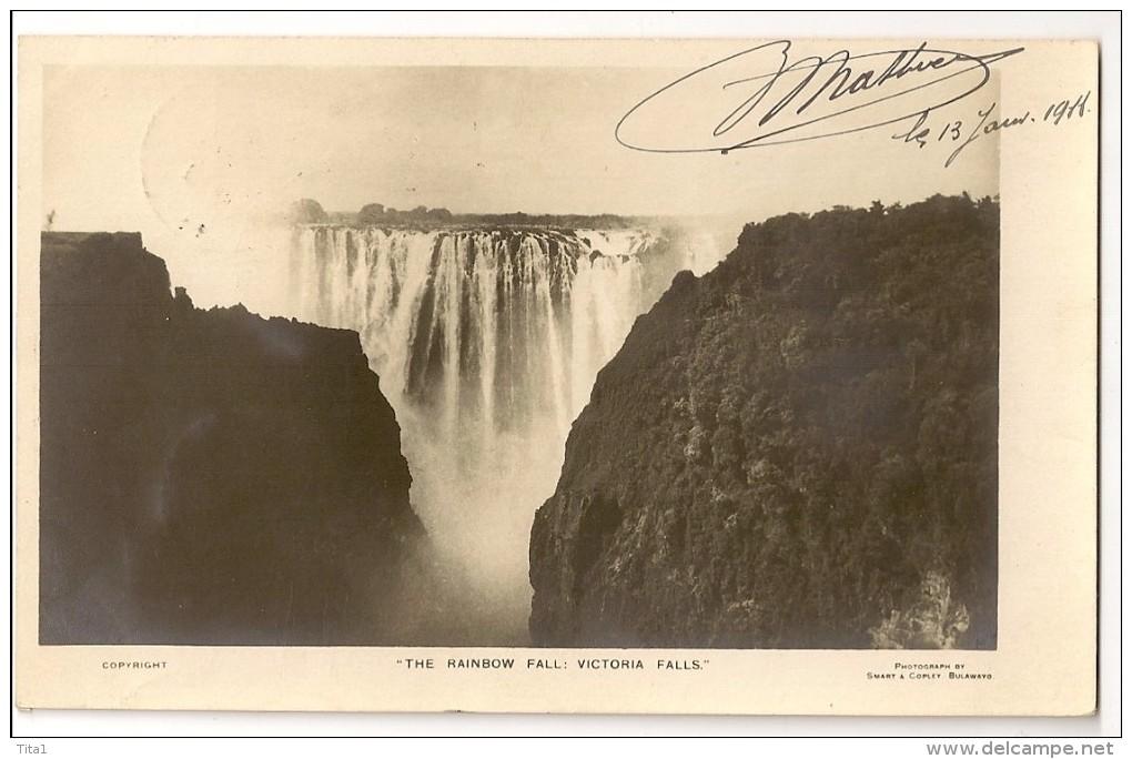 S3671 -  The Rainbow Fall - Victoria Falls - Zimbabwe