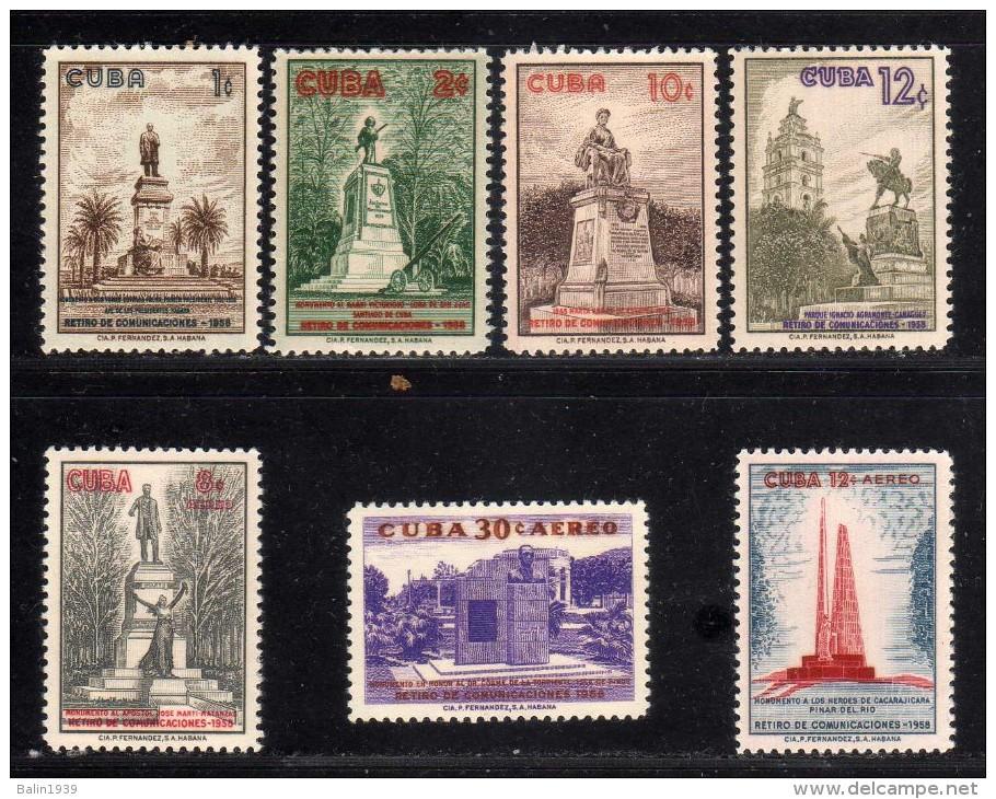 1960 - Cuba - Yv 524/527 + A 207/209 - MNH - CU-167 - Cuba