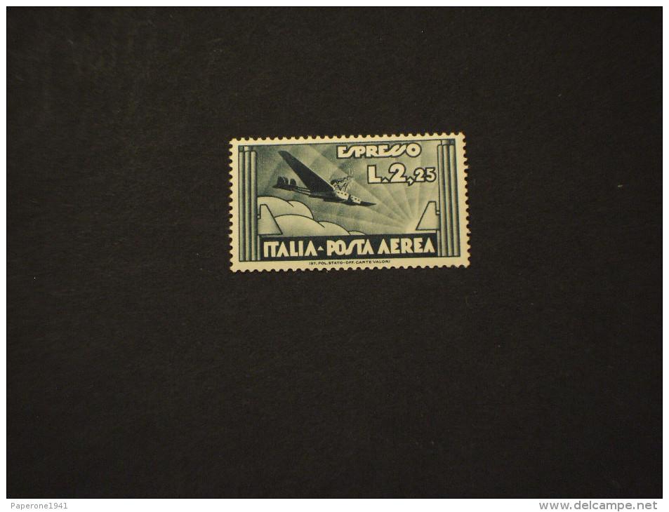 ITALIA REGNO - P.A. 1933 AEREO L 2,55 - NUOVO(++) - Posta Aerea