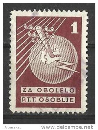 Yugoslavia - Charity Stamp , Za Obolelo PTT Osoblje 1930 , Used - Charity Issues