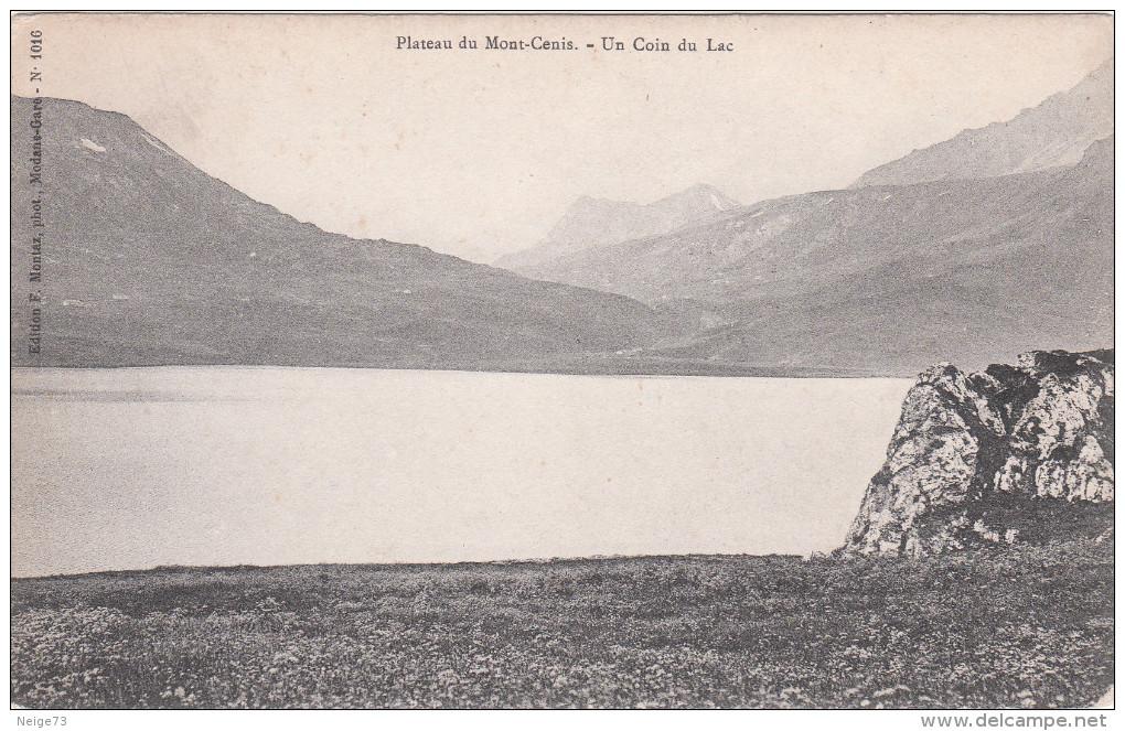 Carte Postale Ancienne - Montagne - Alpinisme - Plateau Du Mont-Cenis - Un Coin Du Lac - Alpinisme