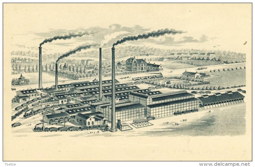 Moustier - Fabrique De Produits Chimiques Agricoles, Fondée En 1880 ( Voir Verso ) - Frasnes-lez-Anvaing