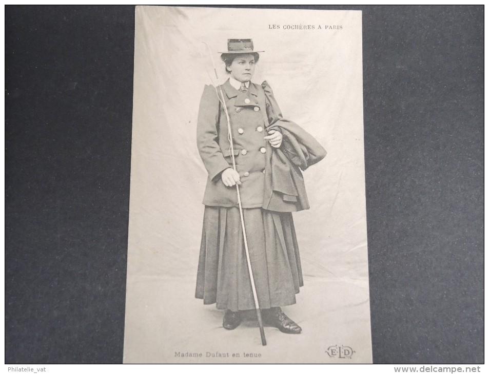 METIER -  Mme Dufaut - Femme Cochère à Paris - 1907 - A Voir - Lot P13356 - Other