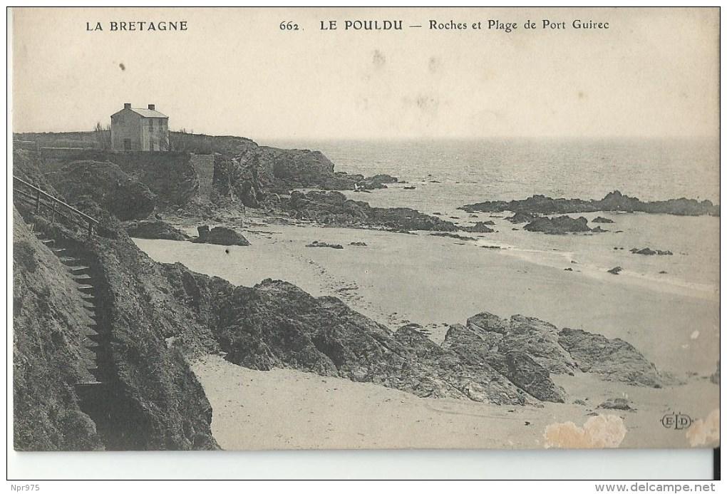 29 Le Pouldu Plagedu Guirec Et Ses Rochers - Le Pouldu