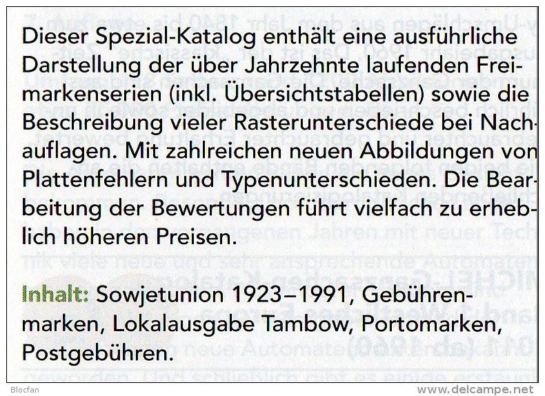 MlCHEL Sowjetunion Spezial Briefmarken Katalog 2016 Neu 150€ Porto/Lokal/Gebühren-Marken Special Catalogues USSR CCCP SU - Ohne Zuordnung