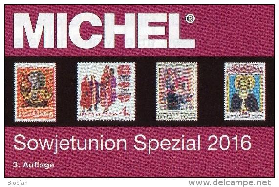 MlCHEL Sowjetunion Spezial Briefmarken Katalog 2016 Neu 150€ Porto/Lokal/Gebühren-Marken Special Catalogues USSR CCCP SU - Bücher, Zeitschriften, Comics
