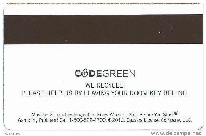Imperial Palace Casino Las Vegas Hotel Room Key Card - Hotel Keycards