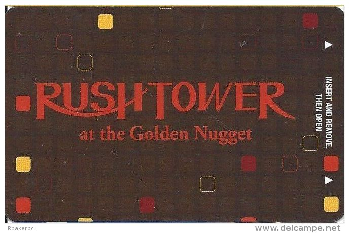 Golden Nugget Casino Hotel Room Key Card - Hotel Keycards
