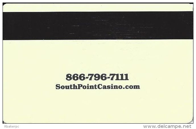 South Point Casino Las Vegas Hotel Room Key Card - Hotel Keycards