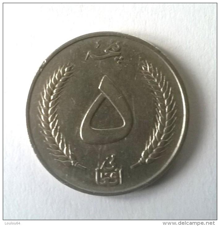 Monnaies - Afghanistan - 5 Afghanis 1961 - - Afghanistan