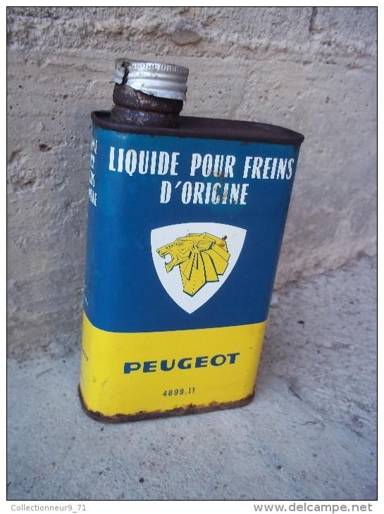 Bidon D´huile Ancien Peugeot - Voitures