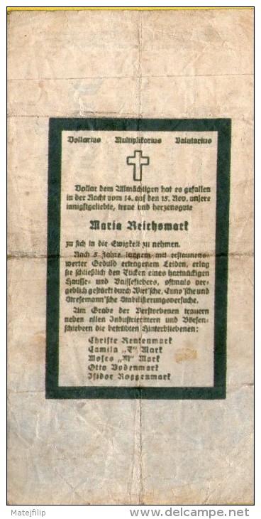 GERMANY 500 MARK 1922 .G. -  PROPAGANDA BANKNOTE - Unclassified