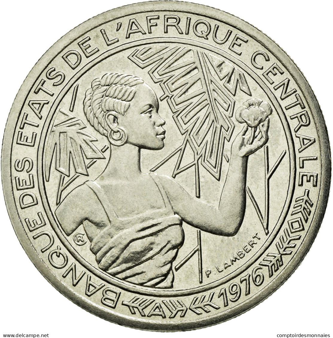 Monnaie, États De L'Afrique Centrale, 500 Francs, 1976, Paris, FDC, Nickel - Tsjaad