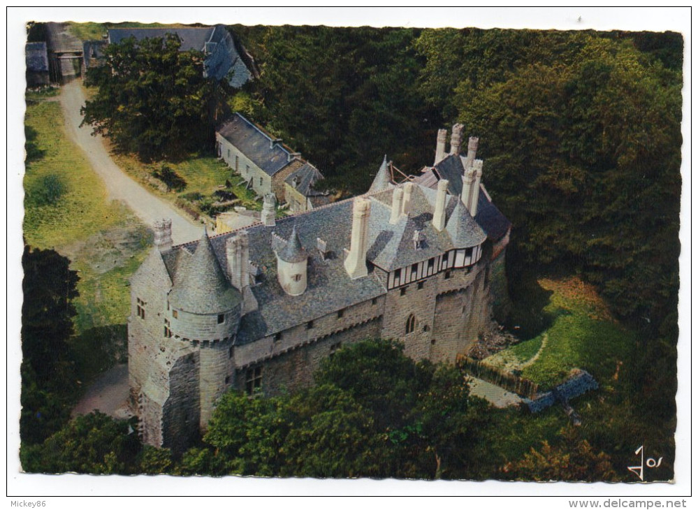 PLOEZAL--1973--Vue Aérienne--Chateau De La Roche-Jagu (Richelieu),cpsm 15 X 10 N° 474 éd Jos - Ploëzal