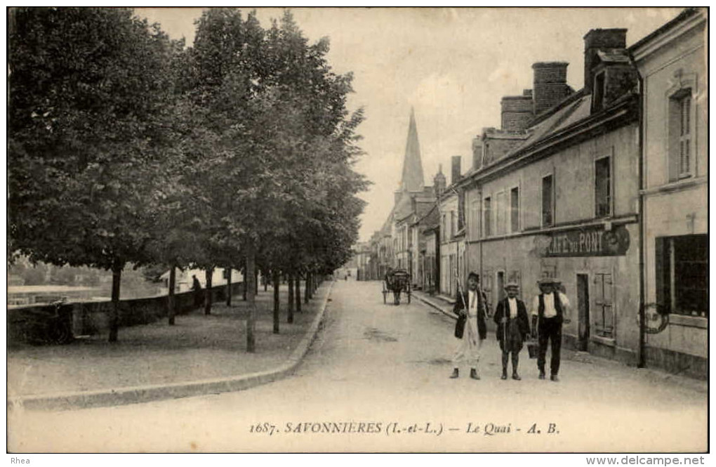 37 - SAVONNIERES - France