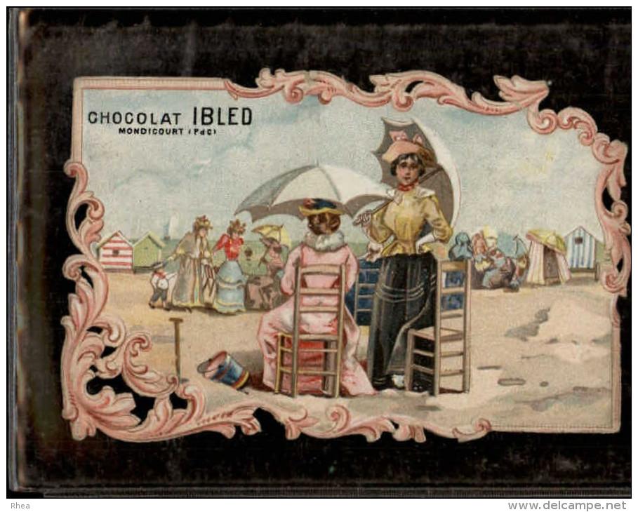 CHROMO - Chocolat IBLED - MONDICOURT 62 - Ibled