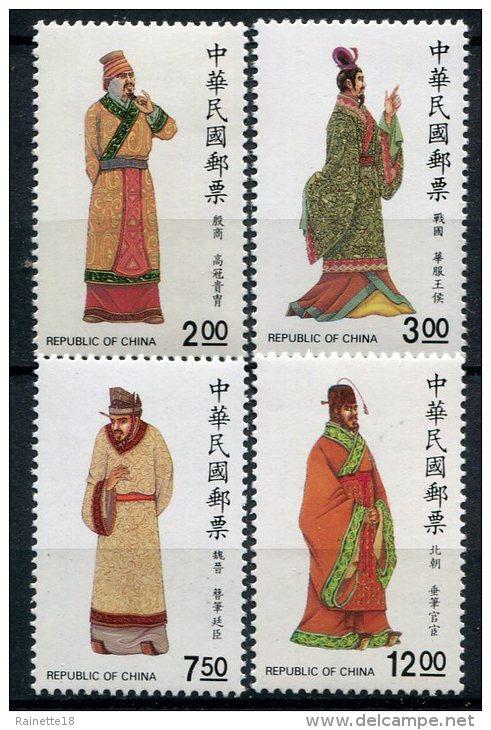 Taïwan (Formose)            1717/1720  ** - 1945-... République De Chine