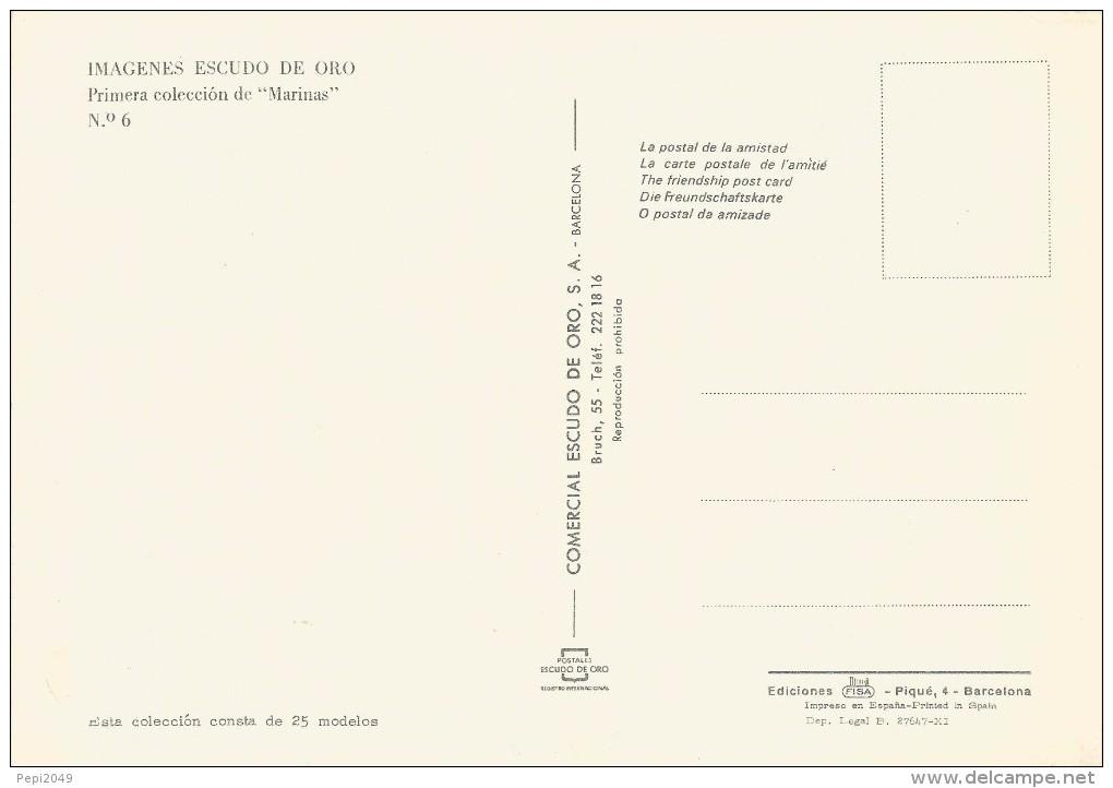 Z139 - POSTAL - IMAGENES ESCUDO DE ORO - PRIMERA COLECCION DE MARINAS - Nº 6 - Postales