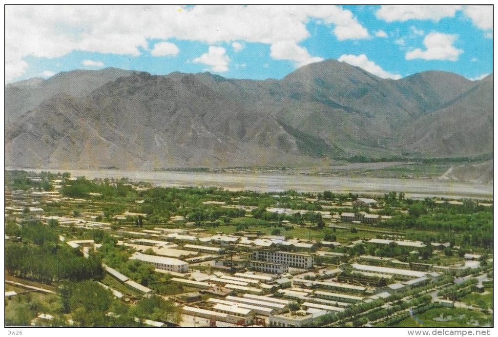 Vues Du Tibet - Nouveau Quartier De Lhassa - Carte Non Circulée - Tibet