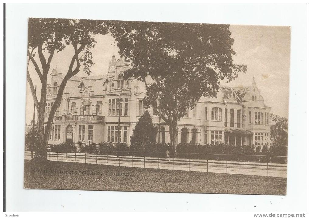 ROYAL VICTORIA INSTITUTE TRINIDAD 1917 - Trinidad