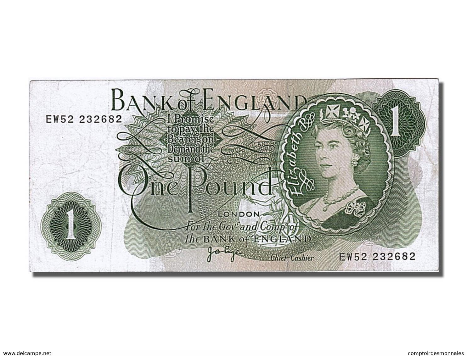 1 Pound Type Elisabeth II - 1952-… : Elizabeth II