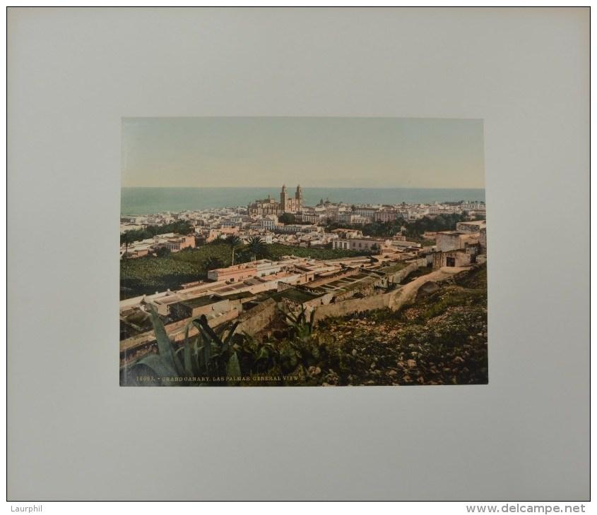 Las Palmas De Gran Canaria Photochrome 1900 Vue Générale - Antiche (ante 1900)