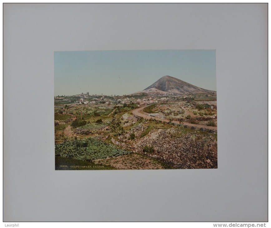Galdar Gran Canaria Photochrome 1900 - Antiche (ante 1900)