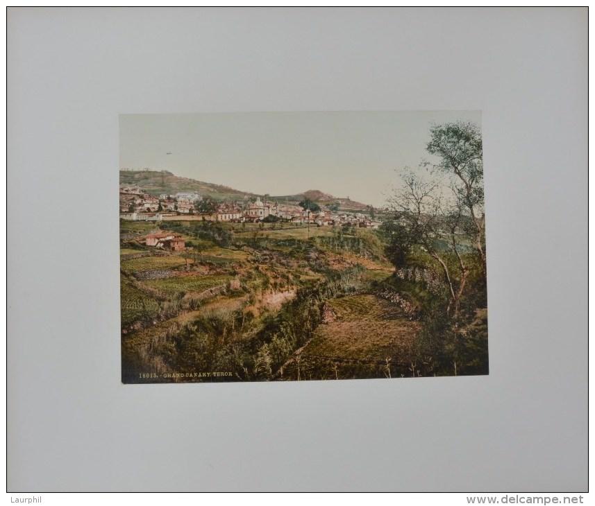Teror,Gran Canaria Photochrome 1900 - Antiche (ante 1900)