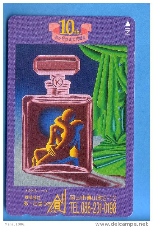 Japan Japon Telefonkarte Télécarte Phonecard -  Parfum - Parfum