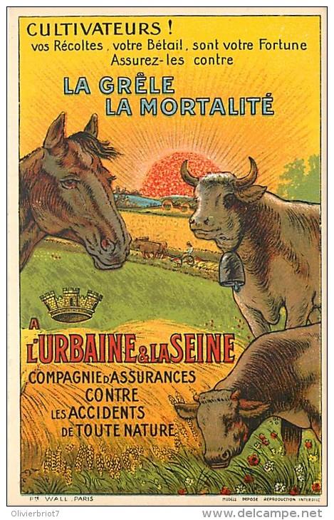 Publicité  - Pour Cultivateurs - Assurances Contre Les Accidents - Veaux Vaches Cochons Chevaux - Otros