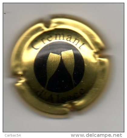 Capsule Crémant D'Alsace - Capsules & Plaques De Muselet