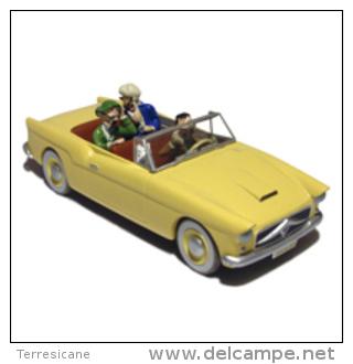 X TINTIN CARS CALCULUS AFFAIRMM.DD. FACEL MERCEDS CHEVROLET - Tintin