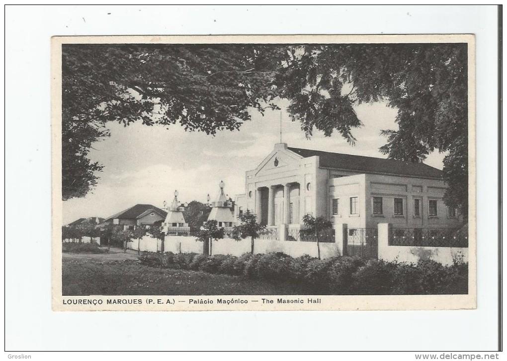 LOURENCO MARQUES (P E A) PALACIO MACONICO THE MASONIC HALL 6 - Mozambique
