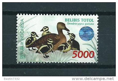 1998 Indonesia 5000 Oiseaux,vögel,birds Used/gebruikt/oblitere - Indonesië