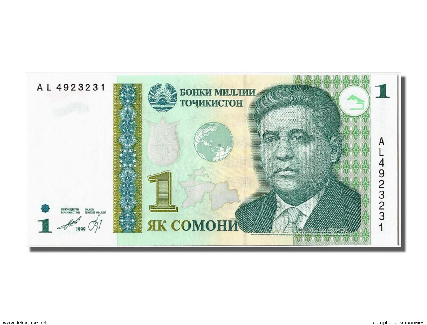 Tadjikistan, 1 Somoni Type Mirzo Tursunzoda - Banconote