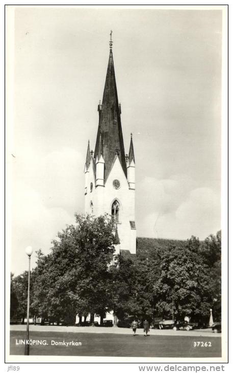 94003 - Suède   Linkôping     Domkyrkan - Suède