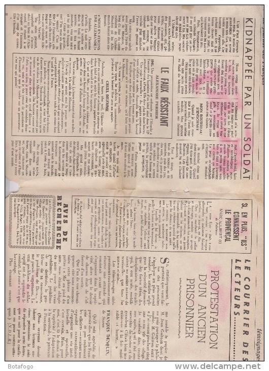 JOURNAL DES FRANCAIS LES ANNEES 40 - Revues & Journaux
