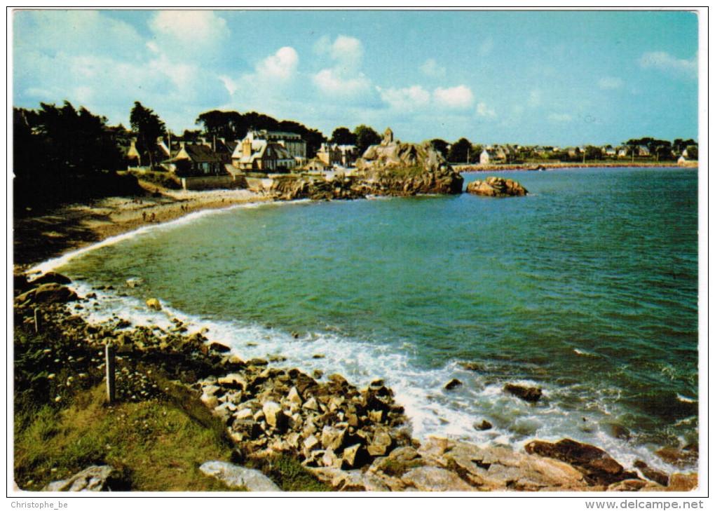 CPA Couleurs De Bretagne, Port Blanc, Penvénan, Vue Générale à Marée Haute 22 (pk27151) - France