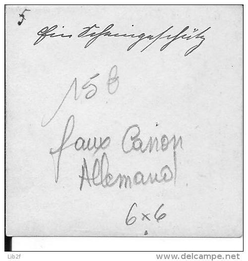 Faux Canon Allemand Et Ses Servants 1 Photo 1914-1918 14-18 Ww1 Wk1 - War, Military