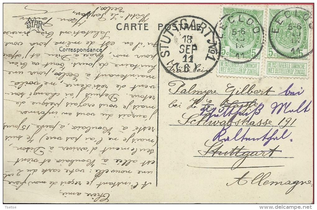 Eeklo / Eecloo - L'Hôtel De Ville -  1911 ( Verso Zien ) - Eeklo