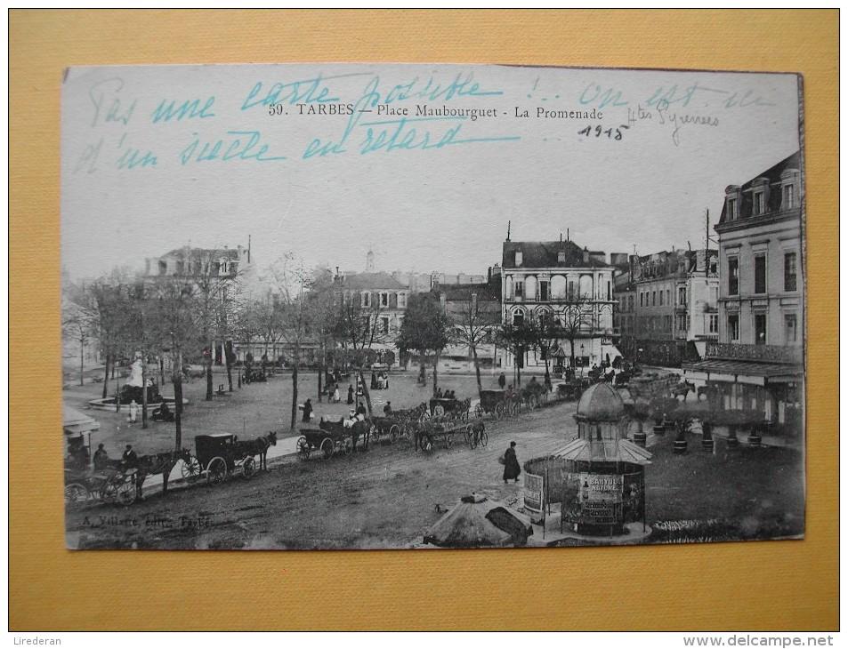 La Place Maubourguet. - Tarbes