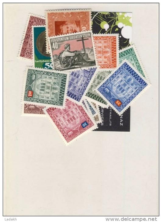 LIECHTENSTEIN # LOT DE 18 TIMBRES  NEUFS # - Collections