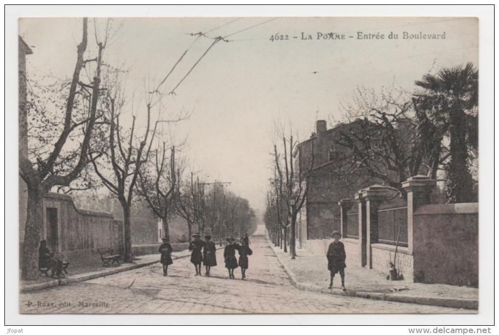 13 BOUCHES DU RHONE - LA POMME Entrée Du Boulevard (voir Descriptif) - Francia