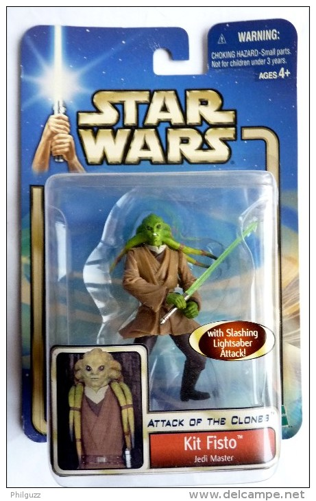 STAR WARS 1995 BLISTER ATTACK OF THE CLONE KIT FISTO - Episode II